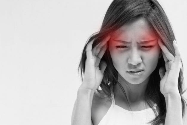 Young Girl, Headache, Migraine, Head Pain - Tick-borne Disease