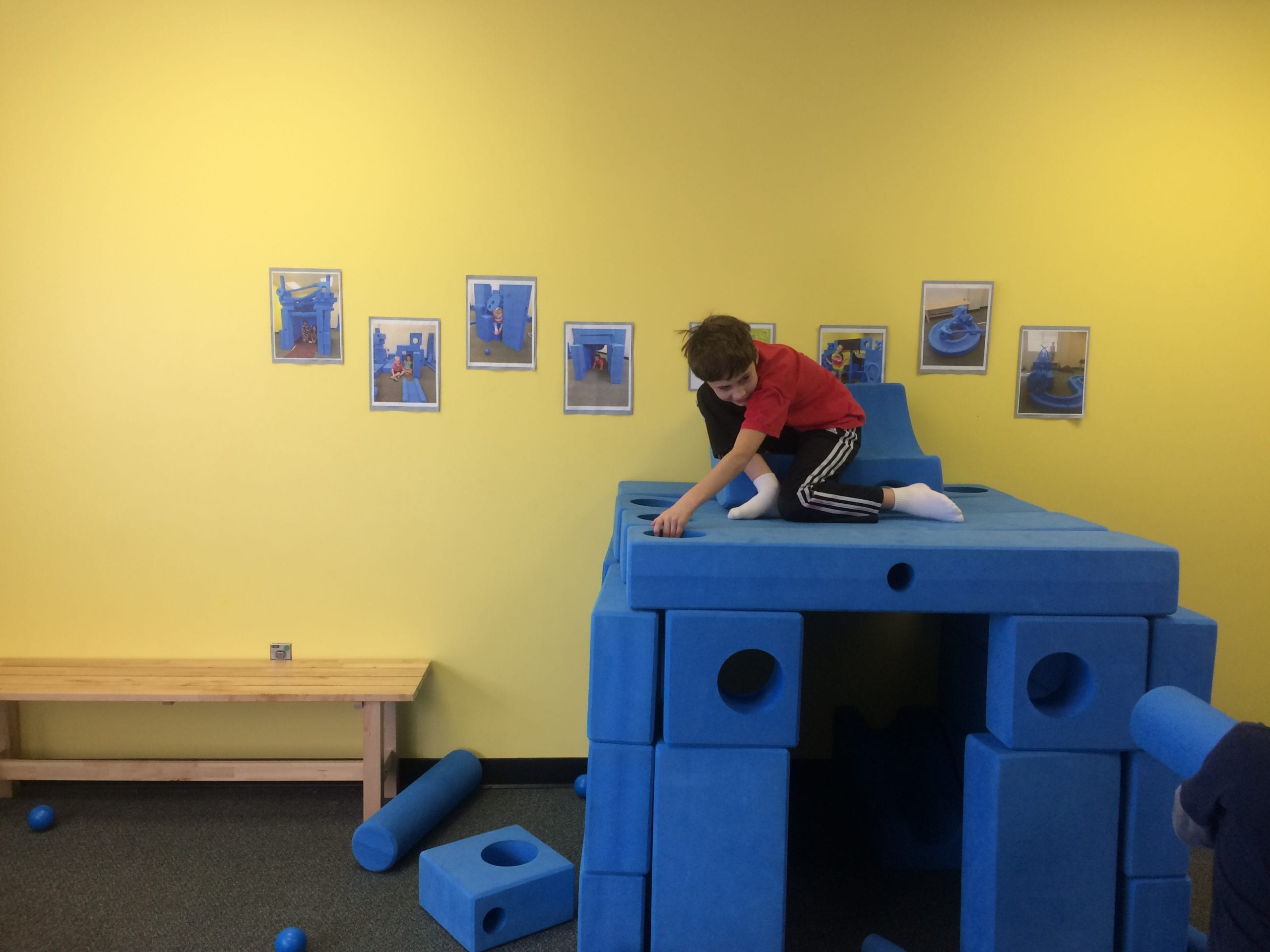 young boy climbing - the explosive child