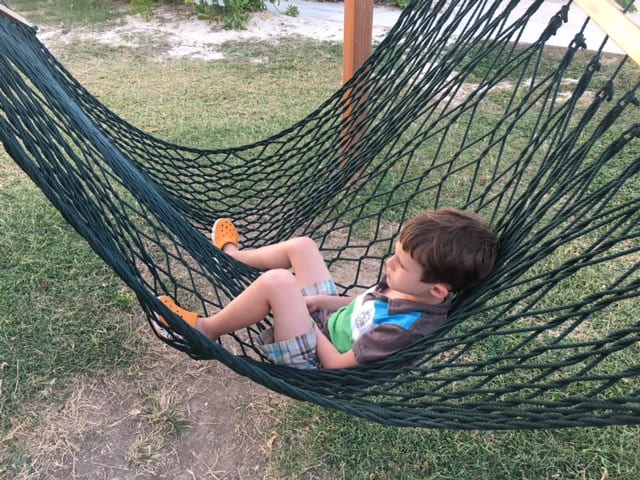Boy laying in hammock - ADHD Child - What you need to know