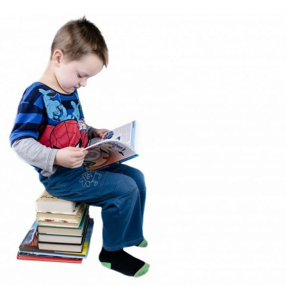 Young boy reading - learning disability treatments