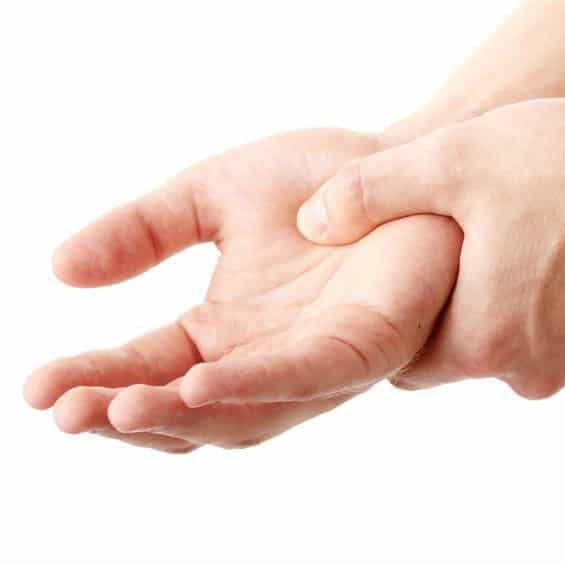 Painful hands - fibromyalgia treatment