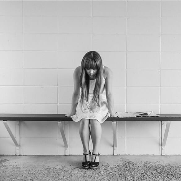 depressed girl - depression treatments