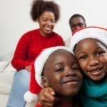 Kids With Family Christmas