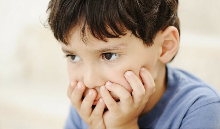 Young child - sensory processing disorder