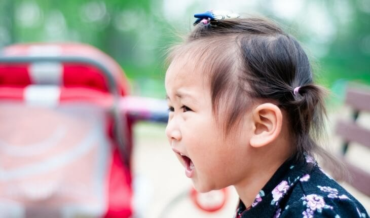 Young girl - disarming Tantrums - managing difficult behaviors