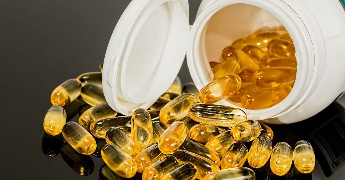 omega-3 fish oil pills